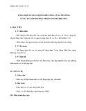 Giáo án Vật lý 12 bài 5: Tổng hợp hai dao động điều hòa cùng phương, cùng tần số. Phương pháp giản đồ Fre-nen