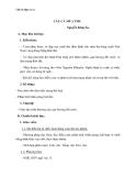 Giáo án Ngữ văn 11 tuần 2: Câu cá mùa thu (Thu điếu)