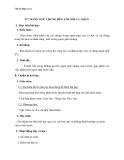 Giáo án Ngữ văn 11 tuần 1: Từ ngôn ngữ chung đến lời nói cá nhân