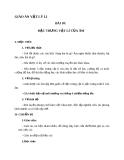 Giáo án Vật lý 12 bài 10:  Đặc trưng vật lí của âm