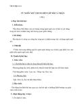 Giáo án Ngữ văn 11 tuần 3: Từ ngôn ngữ chung đến lời nói cá nhân (tiếp)