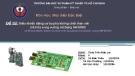 Đề tài: Điều khiển động cơ ba pha không chổi than với mã hóa xung vuông sử dụng 56F800/E