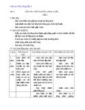Bài 2: Gấp tàu thủy hai ống khói - Giáo án  Thủ công 3  - GV:Ng.H.Lan