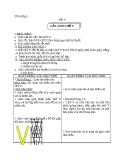 Bài 8: Cắt, dán chữ V - Giáo án  Thủ công 3  - GV:Ng.H.Lan