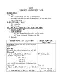 Giáo án Toán 4 chương 2 bài 3:  Chia một số cho một tích
