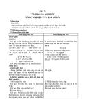 Giáo án Toán 4 chương 2 bài 1: Tìm hai số khi biết tổng và hiệu của hai số đó