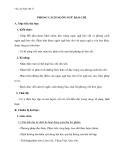 Giáo án Ngữ văn 11 tuần 12: Phong cách ngôn ngữ báo chí