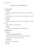 Giáo án Ngữ văn 11 tuần 15: Phỏng vấn và trả lời phỏng vấn
