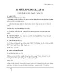 Giáo án Ngữ văn 11 tuần 7: Đọc thêm: Xin lập khoa luật (Trích Tế cấp bát điều)