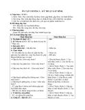 Giáo án Thủ công 2 bài 6: Ôn tập chủ đề gấp hình