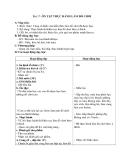 Giáo án Thủ công 2 bài 17: Ôn tập, thực hành thi khéo tay làm đồ chơi theo ý thích
