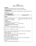 Giáo án Toán 4 chương 4 bài 3: Diện tích hình thoi