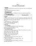 Giáo án Toán 4 chương 5 bài 2:  Ứng dụng của tỉ lệ bản đồ
