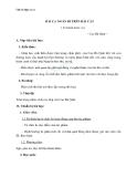 Giáo án Ngữ văn 11 tuần 4: Bài ca ngắn đi trên bãi cát (Sa hành đoản ca)