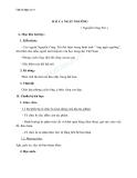 Giáo án Ngữ văn 11 tuần 4: Bài ca ngất ngưởng
