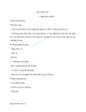 Giáo án Ngữ văn 11 tuần 1: Viết bài làm văn số 1: Nghị luận xã hội