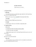 Giáo án Ngữ văn 11 tuần 5: Lẽ ghét thương (trích Truyện Lục Vân Tiên)