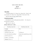 Giáo án bài Tập viết: Chữ hoa: Ă, Â - Tiếng việt 2 - GV. T.Tú Linh
