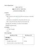 Giáo án tuần 3 bài Tập làm văn: Sắp xếp câu trong bài. Lập danh sách học sinh - Tiếng việt 2 - GV. Hoàng Quân
