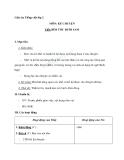 Giáo án tuần 4 bài Kể chuyện: Bím tóc đuôi sam - Tiếng việt 2 - GV. Hoàng Quân
