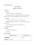 Giáo án tuần 4 bài Tập đọc: Mít làm thơ (tiếp theo) - Tiếng việt 2 - GV. Hoàng Quân