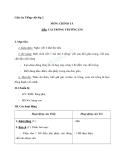 Giáo án tuần 5 bài Chính tả (Nghe - viết): Cái trống trường em. Phân biệt i/iê, en/eng, l/n - Tiếng việt 2 - GV. Hoàng Quân