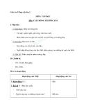 Giáo án tuần 5 bài Tập đọc: Cái trống trường em - Tiếng việt 2 - GV. Hoàng Quân
