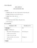 Giáo án tuần 6 bài Chính tả (Nghe - viết): Ngôi trường mới. Phân biệt ai/ay, s/x, dấu hỏi/dấu ngã - Tiếng việt 2 - GV. Hoàng Quân