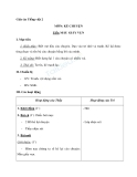 Giáo án tuần 6 bài Kể chuyện: Mẩu giấy vụn - Tiếng việt 2 - GV. Hoàng Quân