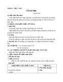 Giáo án bài Tôi đi học - Ngữ văn 8