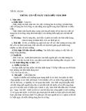 Giáo án bài Thông tin về ngày trái đất năm 2000 - Ngữ văn 8