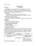 Giáo án Ngữ văn 8 bài 6: Cô bé bán diêm