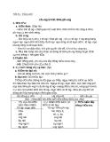 Giáo án bài 8: Chương trình địa phương ( phần tiếng Việt ) - Ngữ văn 8