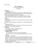 Bài 9: Hai cây phong - Giáo án Ngữ văn 8