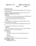 Giáo án bài 8: Chiếc lá cuối cùng - Ngữ văn 8