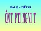 Slide bài Ôn tập và kiểm tra phần tiếng Việt - Ngữ văn 8