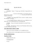Giáo án Ngữ văn 10 tuần 5: Trả bài làm văn số 1