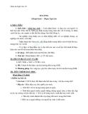 Giáo án Ngữ văn 10 tuần 13: Tỏ lòng