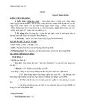 Giáo án Ngữ văn 10 tuần 14: Nhàn