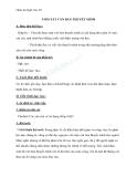 Giáo án Ngữ văn 10 tuần 25: Tóm tắt văn bản thuyết minh