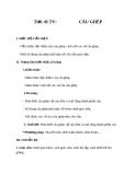 Giáo án bài 11: Câu ghép - Ngữ văn 8
