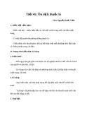 Giáo án bài 12: Ôn dịch, thuốc lá - Ngữ văn 8