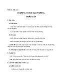 Giáo án bài Chương trình địa phương ( phần văn) - Ngữ văn 8