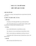 Bài 15: Thuyết minh về một thể loại văn học - Giáo án Ngữ văn 8