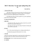 Bài 15: Vào nhà ngục Quảng Đông cảm tác - Giáo án Ngữ văn 8
