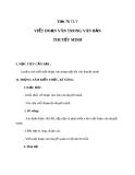 Bài 18: Viết đoạn văn trong văn bản thuyết minh - Giáo án Ngữ văn 8