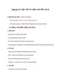 Giáo án bài Ôn tập về văn bản thuyết minh - Ngữ văn 8