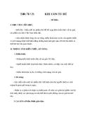 Bài 19: Khi con tu hú - Giáo án Ngữ văn 8