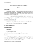 Giáo án Ngữ văn 10 tuần 2: Hoạt động giao tiếp bằng ngôn ngữ (tiếp theo)