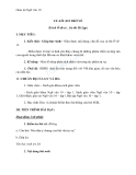 Giáo án Ngữ văn 10 tuần 5: Uy Lít Xơ trở về